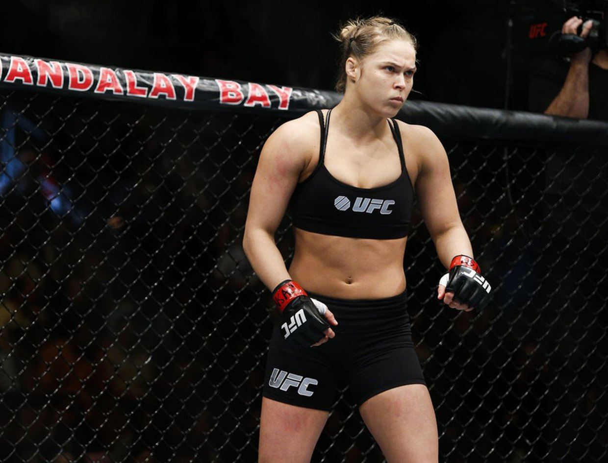 Is Ronda Rousey the greatest fighter in the world?