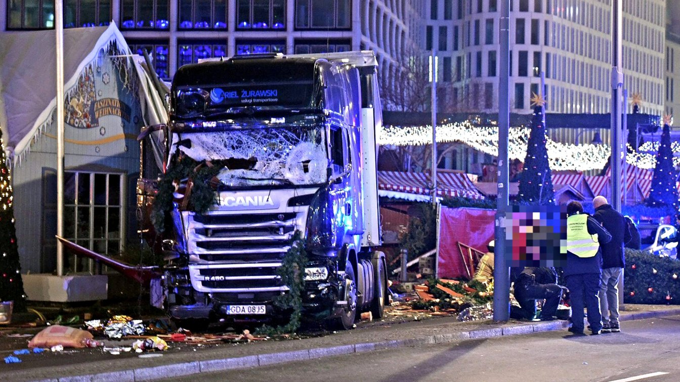 Is Angela Merkel responsible for the 2016 Berlin Christmas market truck attack?