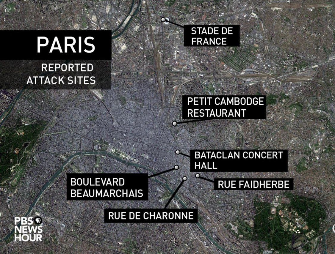 What are your thoughts on the November 2015 Paris attacks?